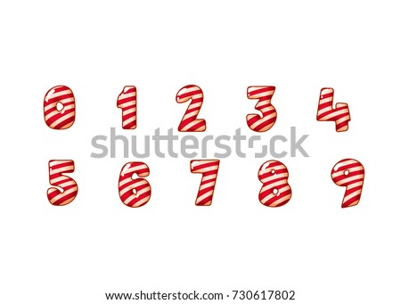 merry christmas candy cane font