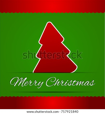 Merry christmas card in abstract green business card illustration merry christmas card in abstract green business card illustrationctor colourmoves