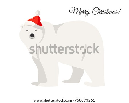 merry christmas card white