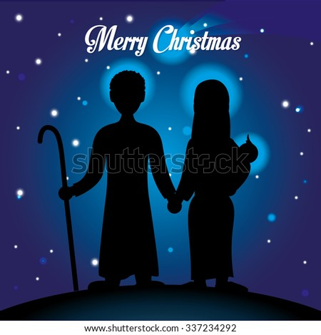 merry christmas concept with