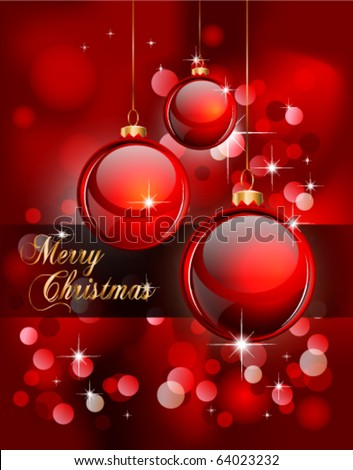 Christmas Wishes on Merry Christmas Elegant Suggestive Background For Greetings Card Stock