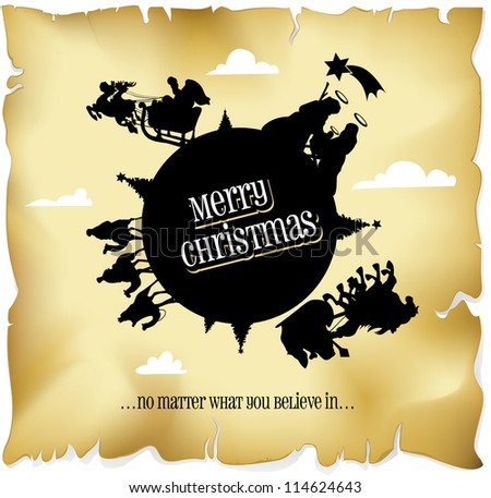 merry christmas everyone� no matter what you believe in...