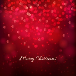 Merry Christmas festive background. Vector illustration