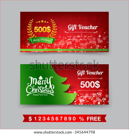 xmas voucher template – Fun Voucher Template