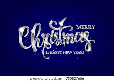 Beautiful Merry Christmas Illustration - Download Free Vector Art ...