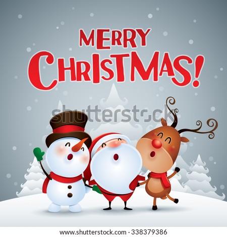 merry christmas happy christmas companions ez canvas