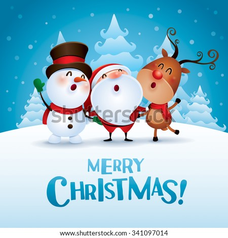 merry christmas  happy