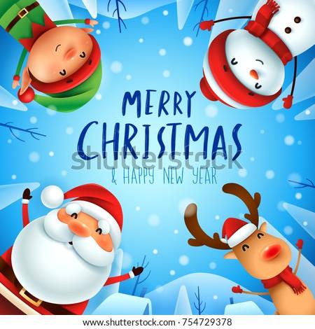 merry christmas  happy