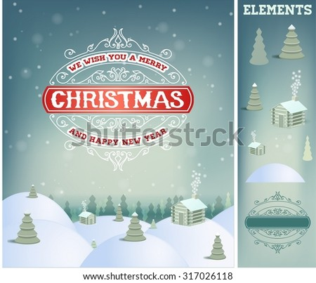 merry christmas holidays wish