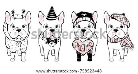 French Bulldog Vector Download Free Vector Art Stock Graphics