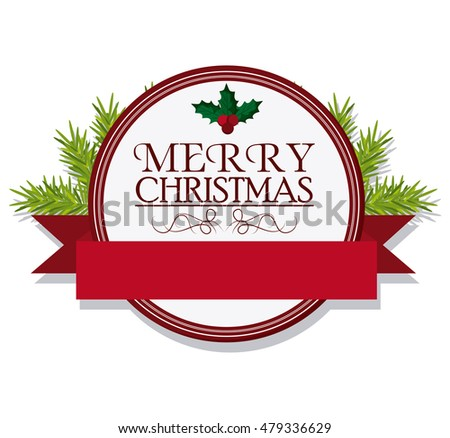 merry christmas labels and stamps download free vector art stock