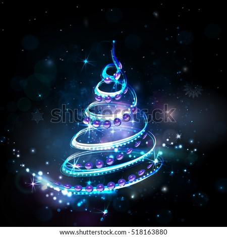 merry christmas night holiday