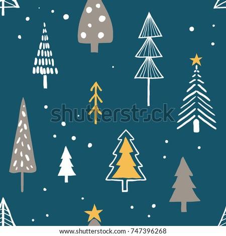 merry christmas seamless