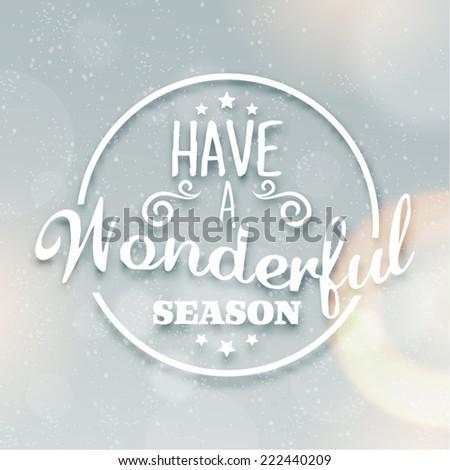 merry christmas season