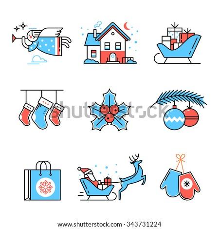 merry christmas symbols