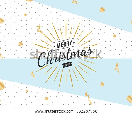 merry christmas text design