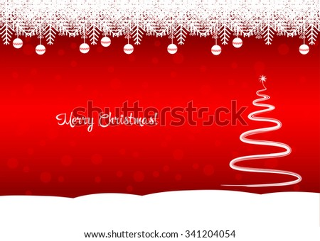 merry christmas text tree  the