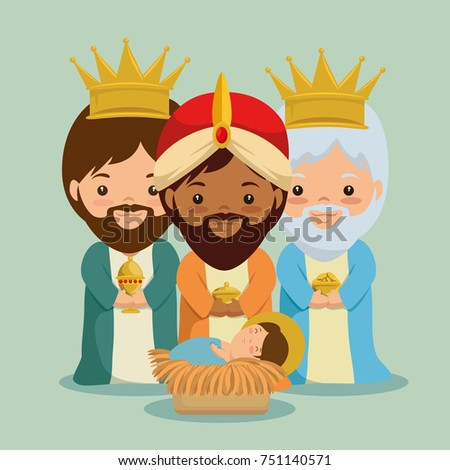 merry christmas three magic and wise kings