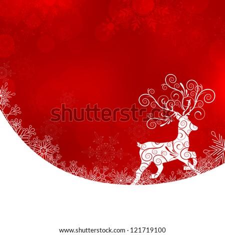 Merry christmas - vector