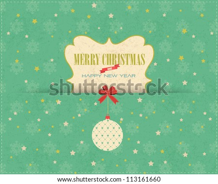 Merry Christmas Vector Design