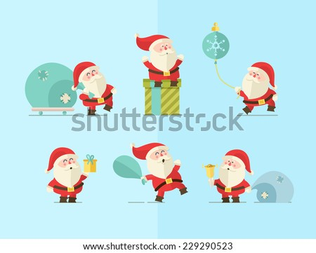 Stock Photo Merry christmas. vector winter background.