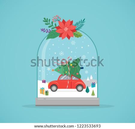 merry christmas  winter