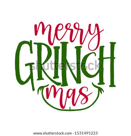 merry christmas with grinch