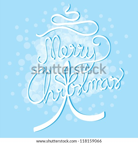 Merry chritmas background vector