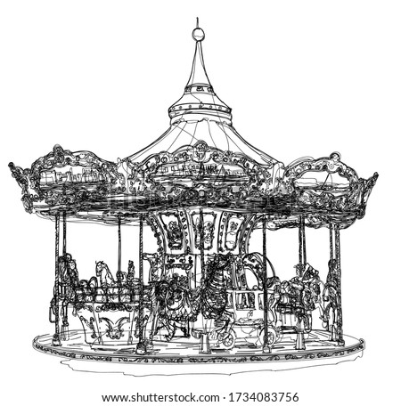 merry go round in paris