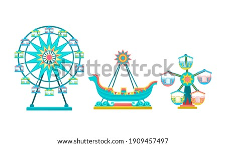 merry go round with horses as