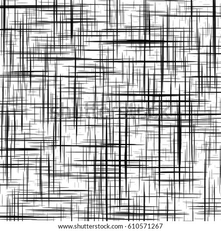Mesh, grid with irregular, random lines