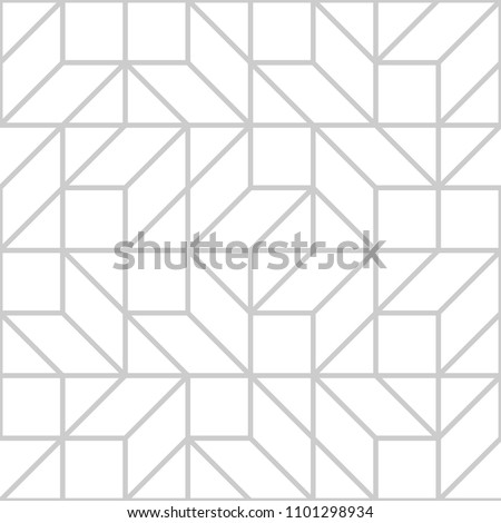 Mesh repeating texture Linear grid pattern with chaotic shapes. Stylish geometric lattice modern vector design