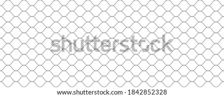 Mesh texture for fishing net. Seamless pattern for sportswear or football gates, volleyball net, basketball hoop, hockey, athletics. Abstract net background for sport. Vector mesh illustration