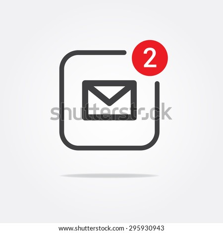 Message & Mail Notification Icon