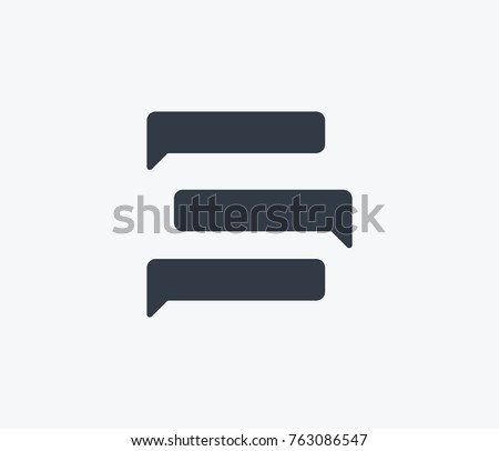 messages icon isolated on clean background messages icon concept sign for your web site, mobile, logo, app and ui design messages icon vector illustration