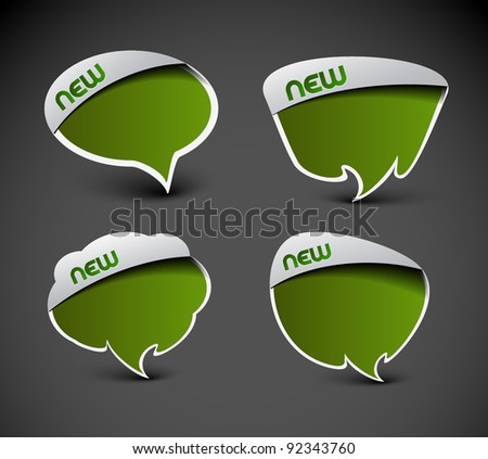 messenger window icon vector illustration.