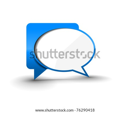 messenger window icon vector illustration isolated on white background.