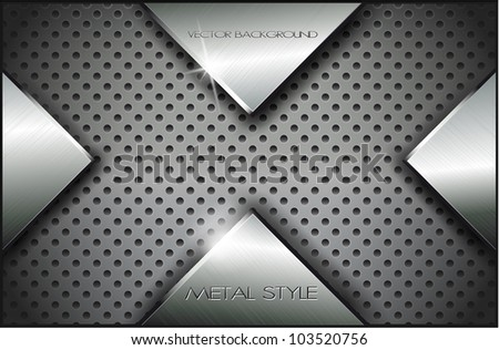 metal backgroundvector