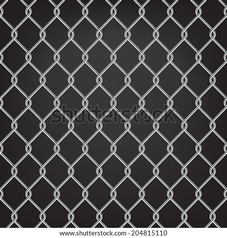 metal chain link fence seamless