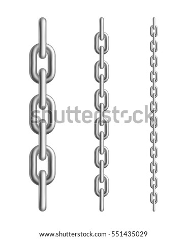metal chain links different