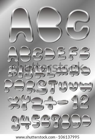metal cutely handwriting font