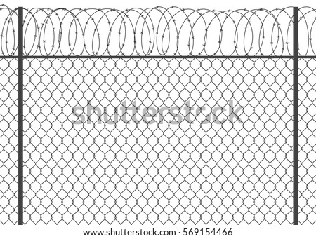 Barbed Wire Vectors - Download Free Vector Art, Stock Graphics & Images