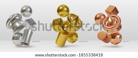 metal geometric shapes