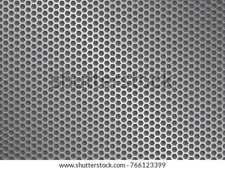 metal grate background