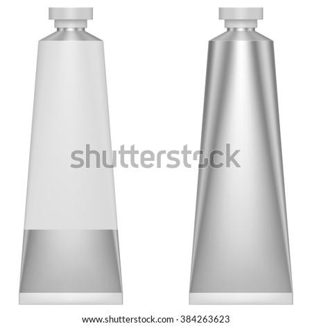 metal paste tube