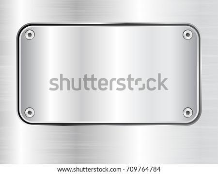 metal plate background  steel