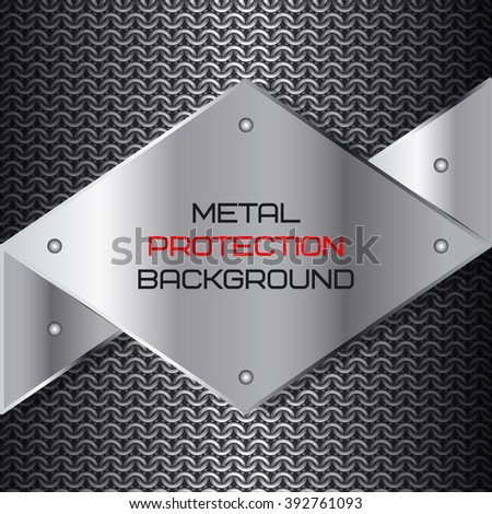 metal protection  background