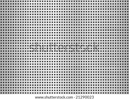Metal square net seamless texture background. - stock vector