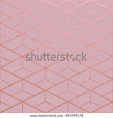 metallic glossy texture rose