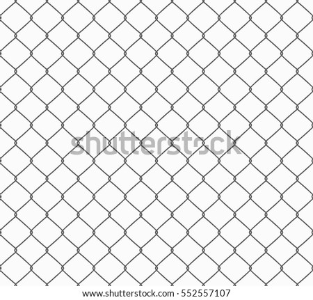 metallic wired fence seamless